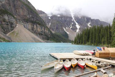 カナダの観光地で高校留学